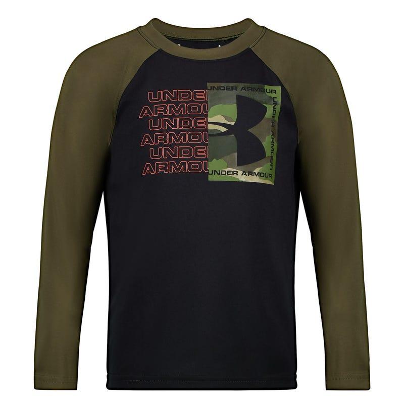 Wordmark raglan l/s t-shirt4-7