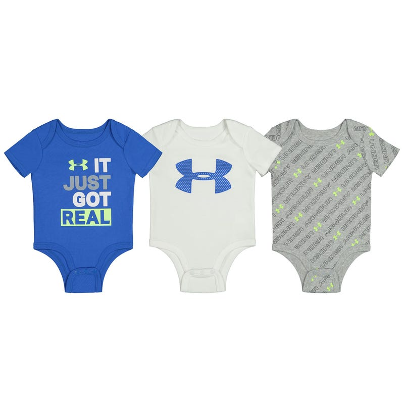 It Just Got Real 3pck bodysuit 0-12m