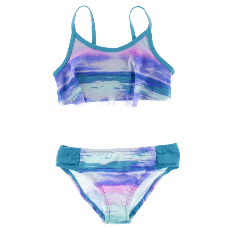 Bikini UV Wave Stripe 8-14ans