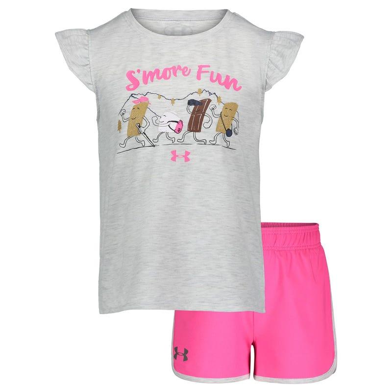 Ensemble 2pcs T-shirt Smore Fun 4-6x