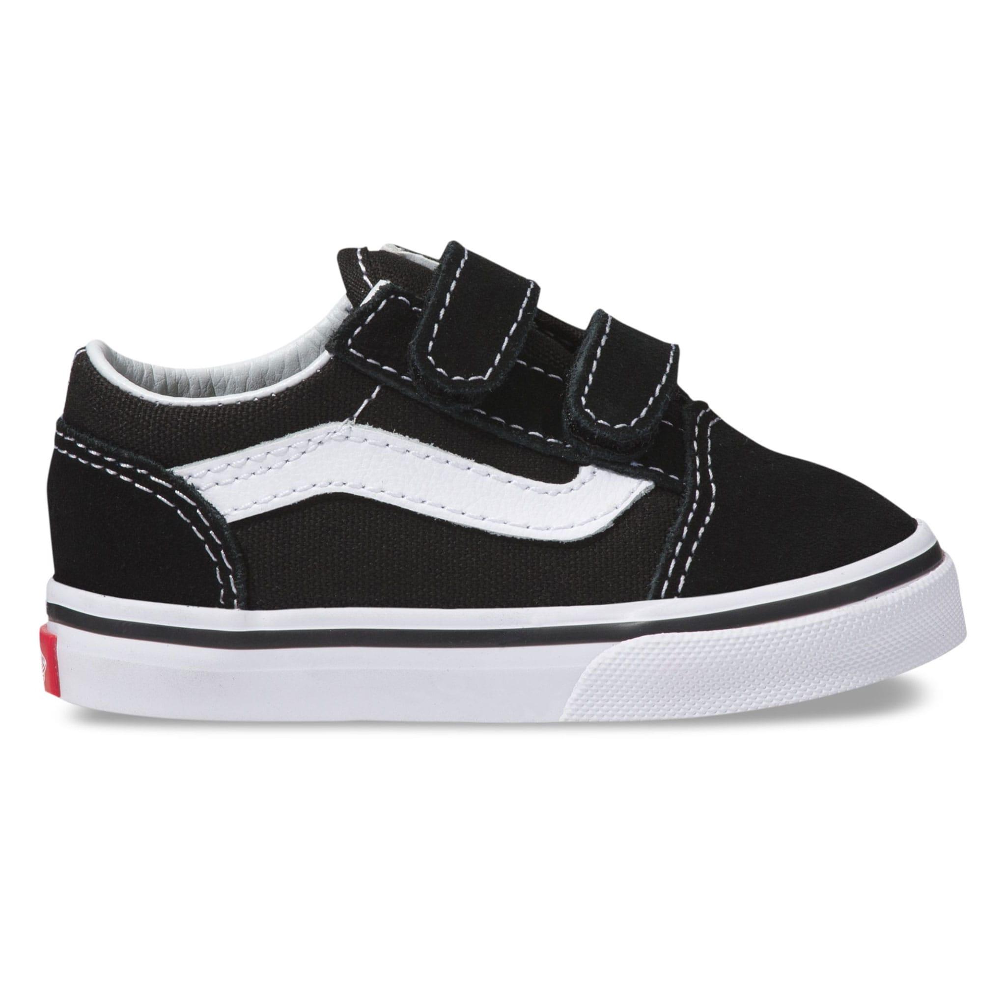 f1dbbccad Vans Old Skool V Shoes Sizes 4-10 - Black - Clement