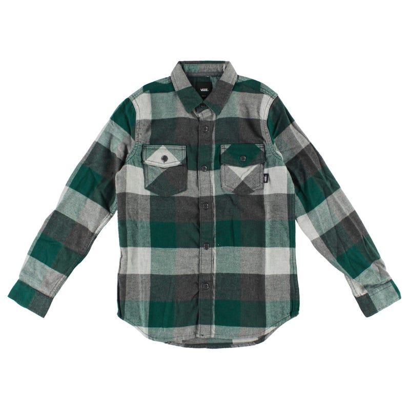 Box Flannel L/S Shirt 8-16