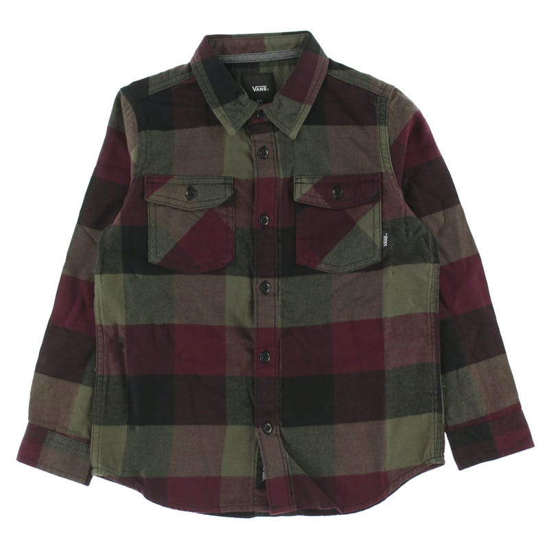 Box flannel shirt 8-16