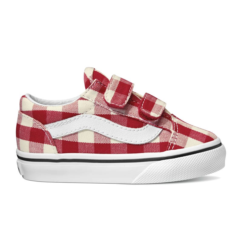 Soulier Old Skool Gingham 4-10