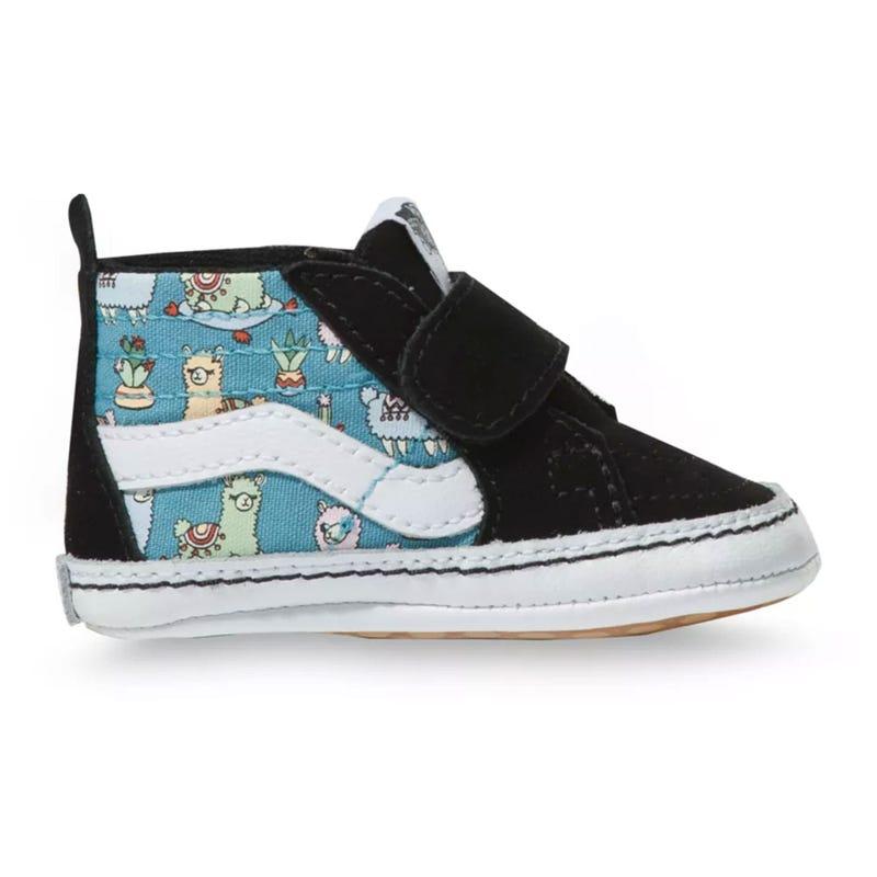 Llamas SK8-Hi Crib Shoe Sizes 1-4