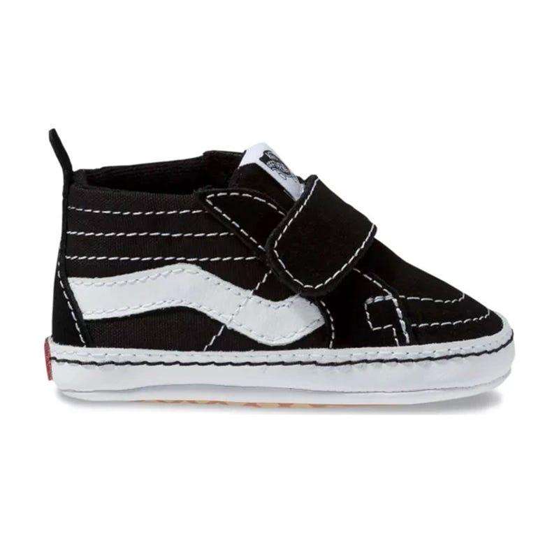 SK8-Hi Crib Black Shoe Sizes 1-4