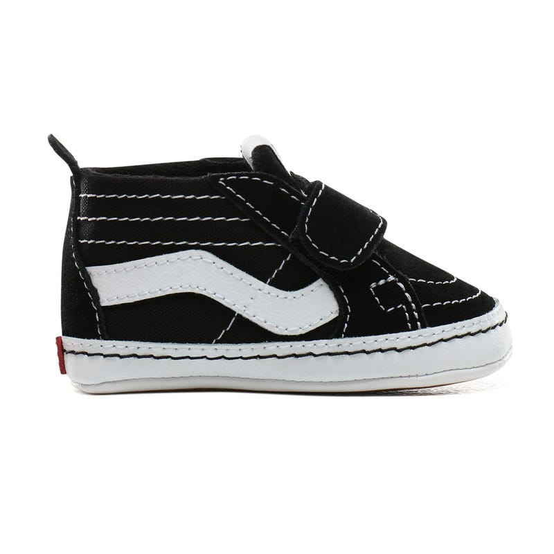 Sk8-Hi Crib Shoe Sizes 1-4 - Black