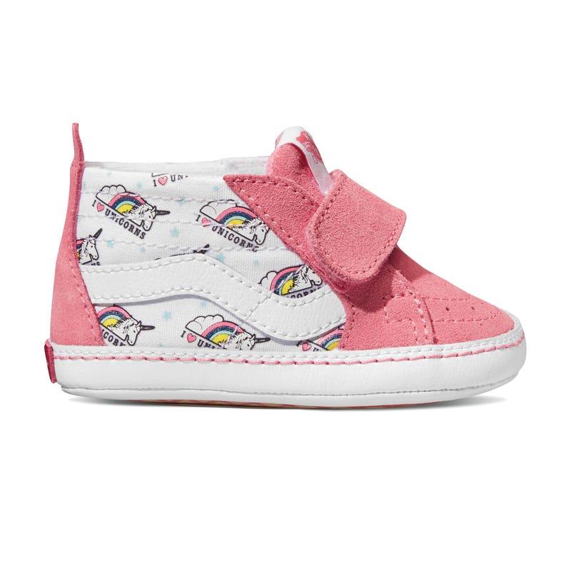 Sk8-Hi Crib Shoe Sizes 1-4 - Unicorn