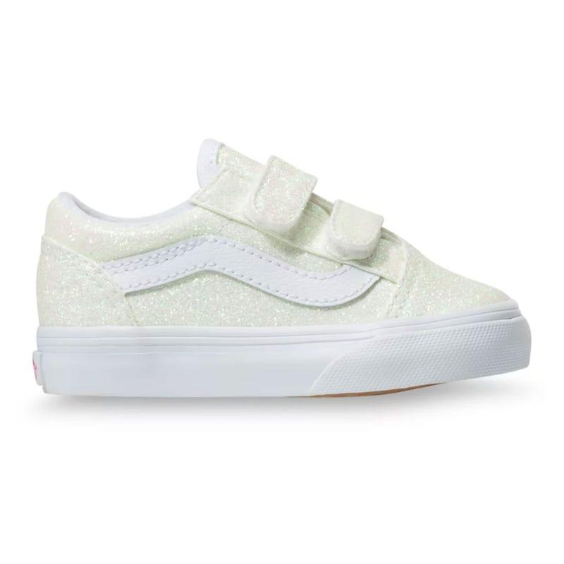UV Glitter Old Skool V Shoe Sizes 4-10