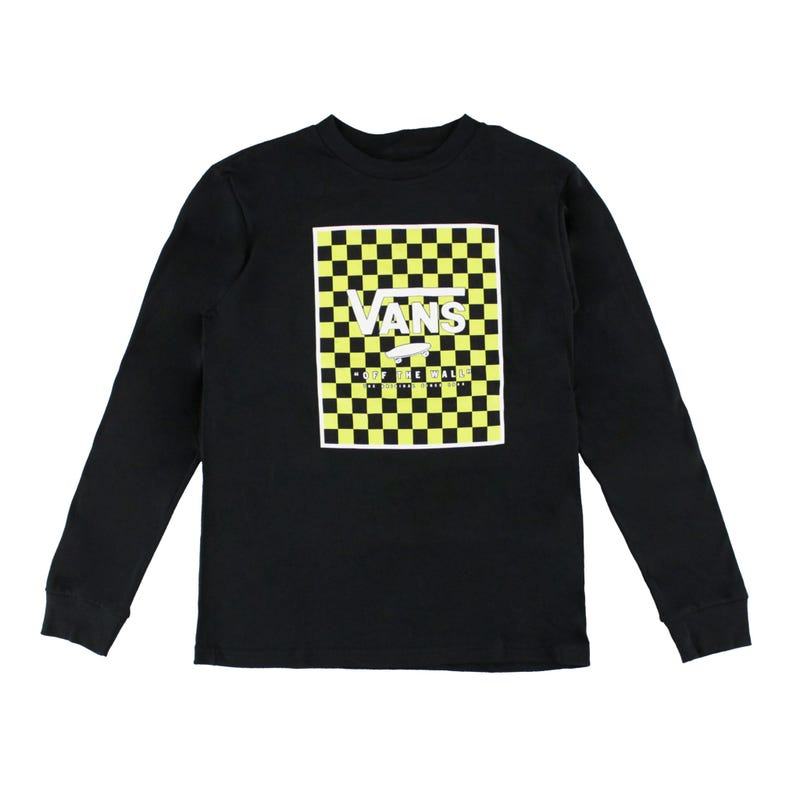 Print Box L/S T-Shirt 8-16