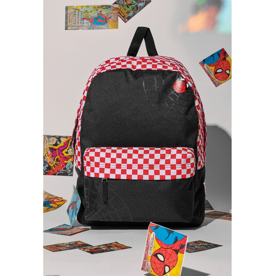 9bccd3809fc626 Vans Backpack Spiderman Realm 8-16 - Clement