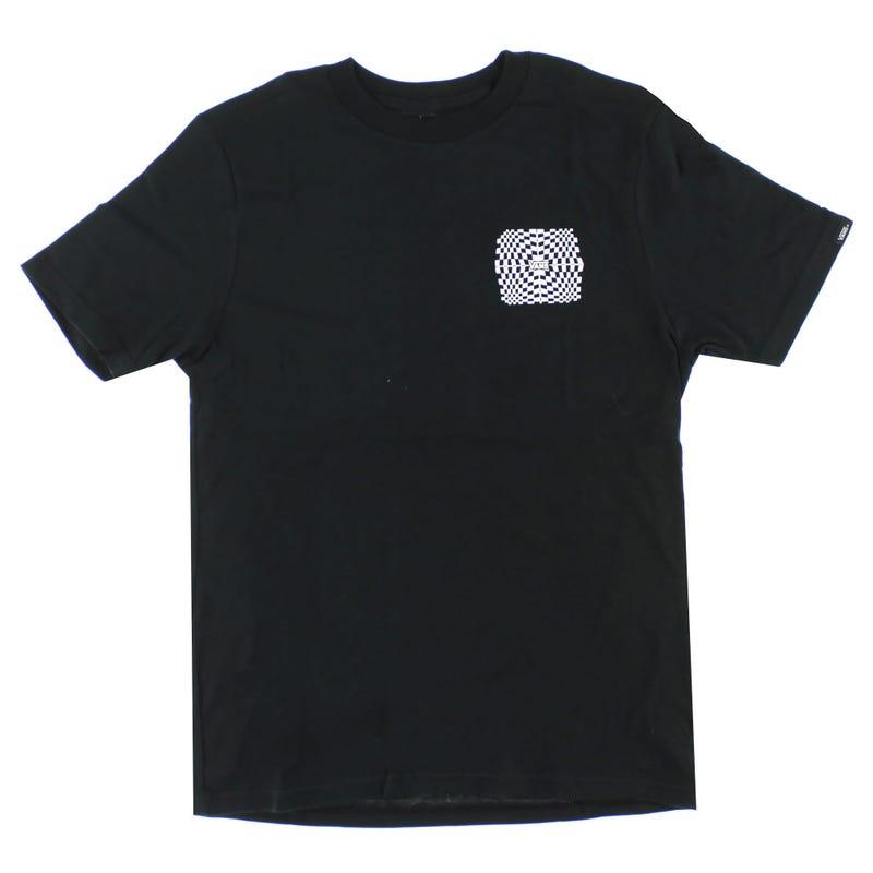 Warped Check T-Shirt 8-16y