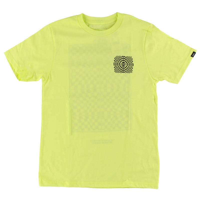 T-Shirt Warped Check 8-16ans