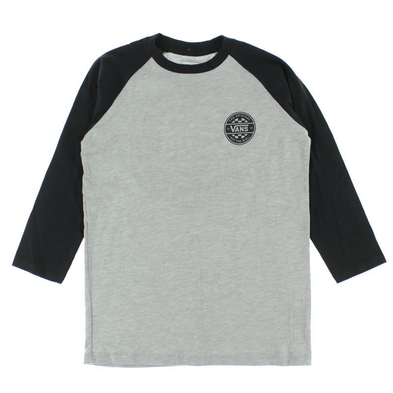 T-Shirt Raglan Checker 8-16ans