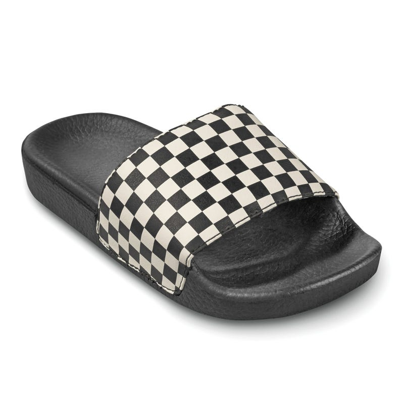 Slide Vans Checker Black 11-6