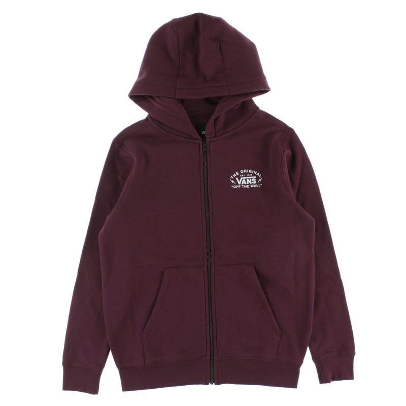 Bolt action zip hoodie 8-16