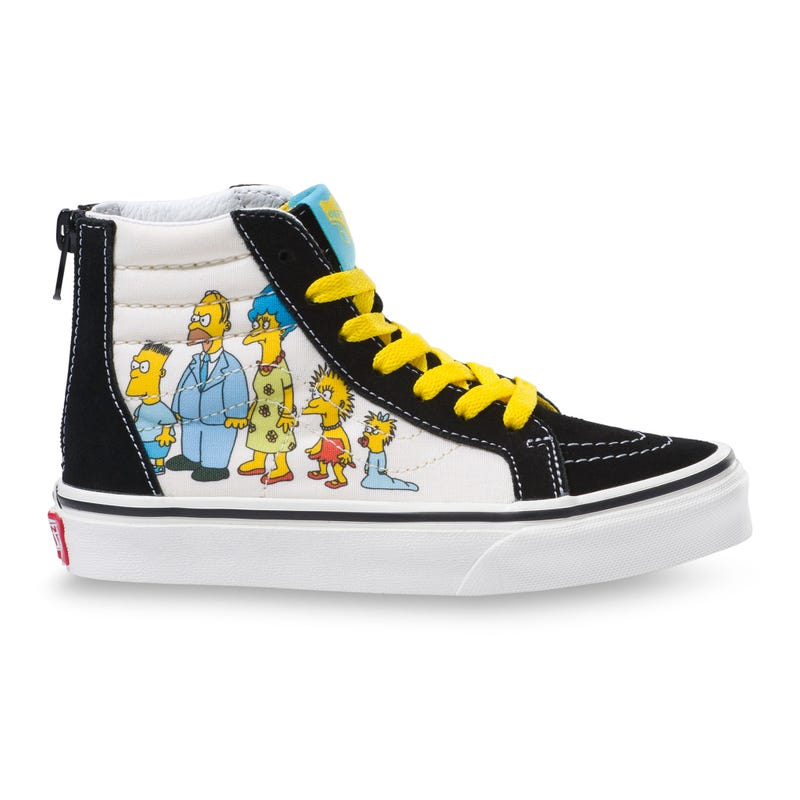 Sk8-Hi Zip Simpsons 1987-2020 Pointures 11-3