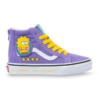 Sk8-Hi Zip Lisa Simpsons Prez Sizes 11-3