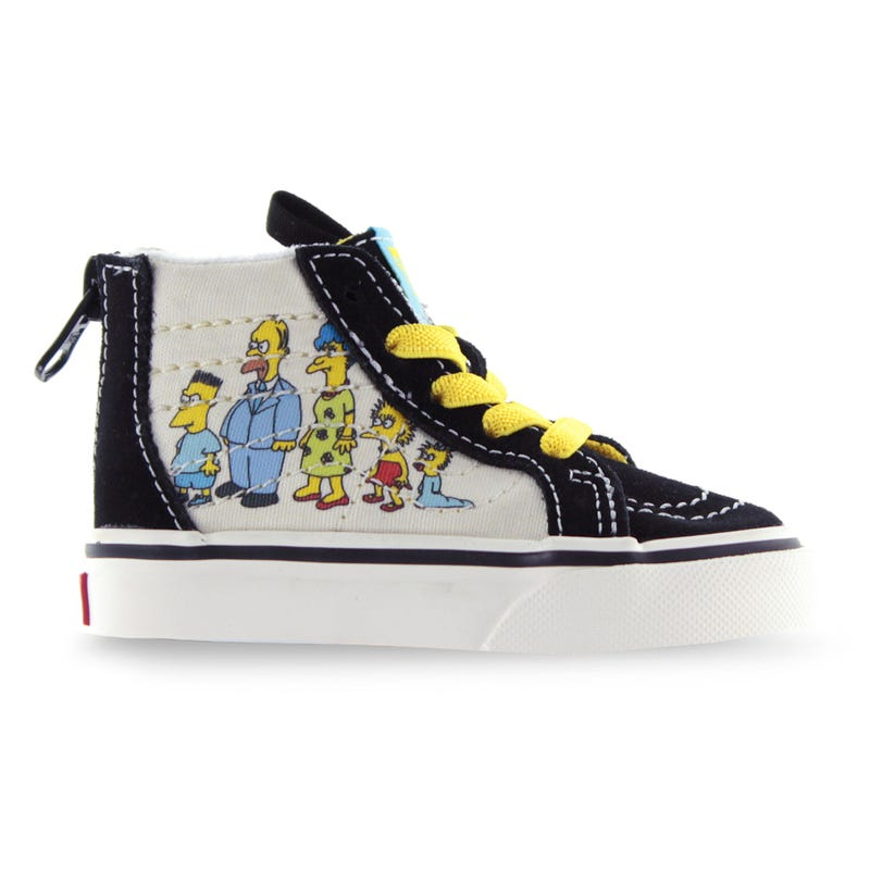 Sk8-Hi Zip Simpsons 1987-2020 Sizes 4-10