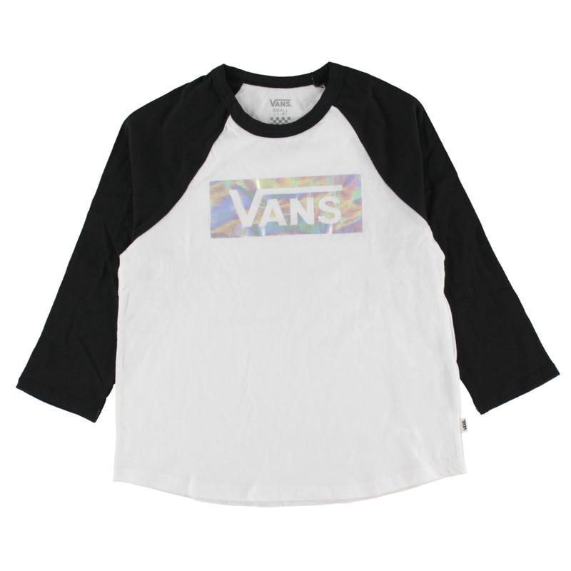 T-Shirt Raglan Check Box 8-16ans