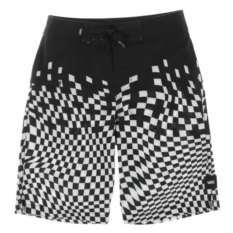 Boardshort Warped Checker 8-16ans