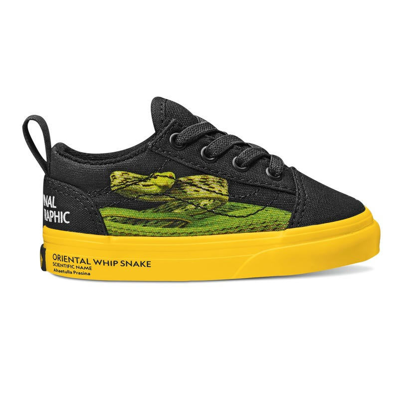Vans x National Geographic Old Skool Elastic Lace Size 4-10