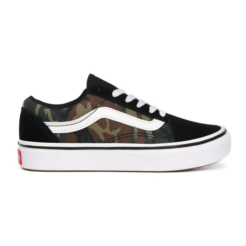 Comfycush Old Skool Camo Sizes 11-3