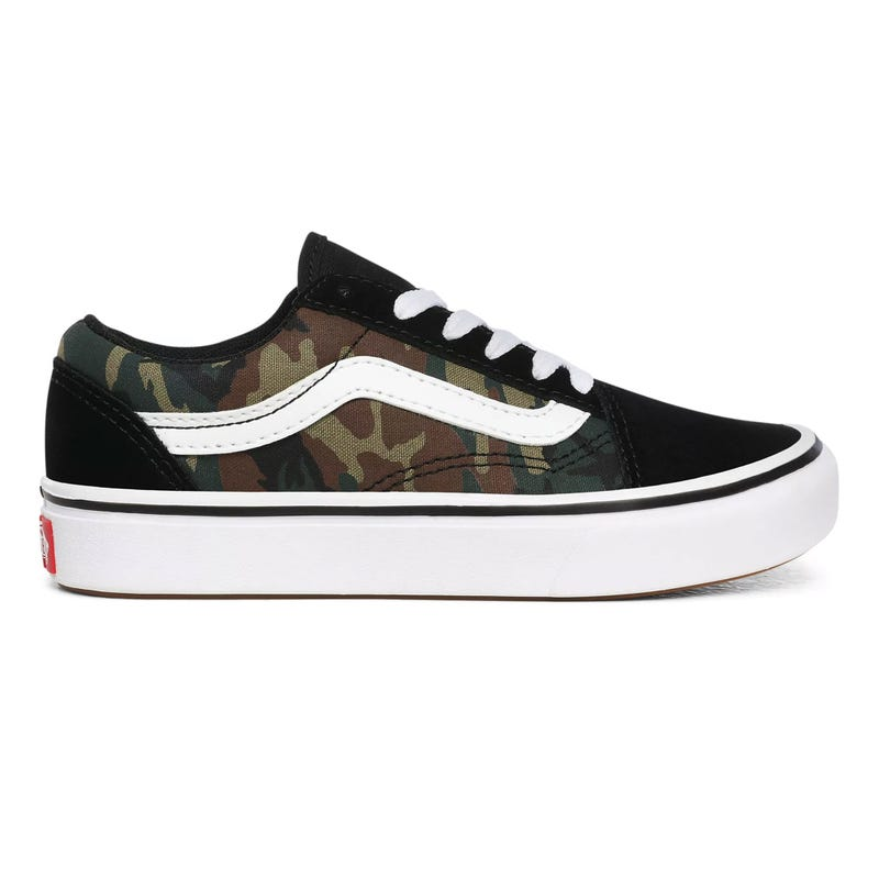 Comfycush Old Skool Camo Sizes 4-7