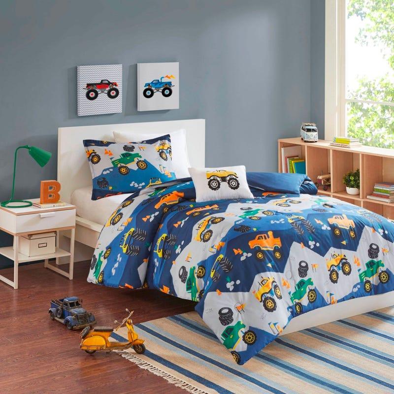 4 Pieces Double/Queen Comforter Set - Construction