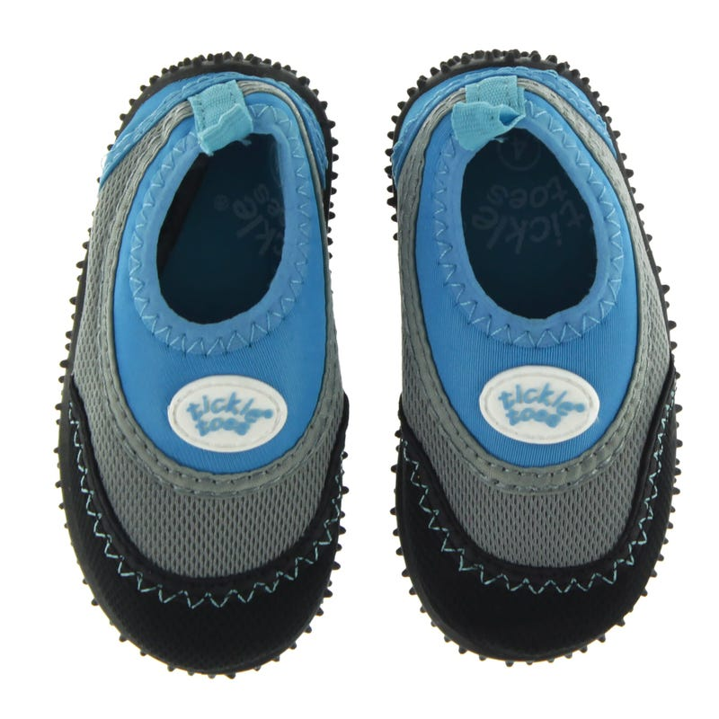 Aqua Shoes Rubber Soles - Blue