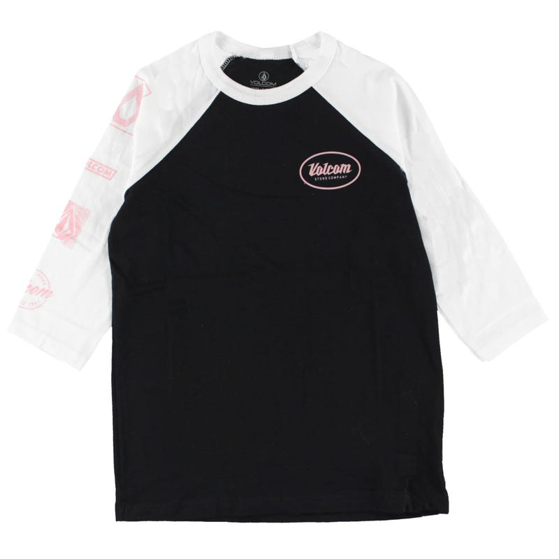 T-Shirt Raglan Time Girl 7-14ans