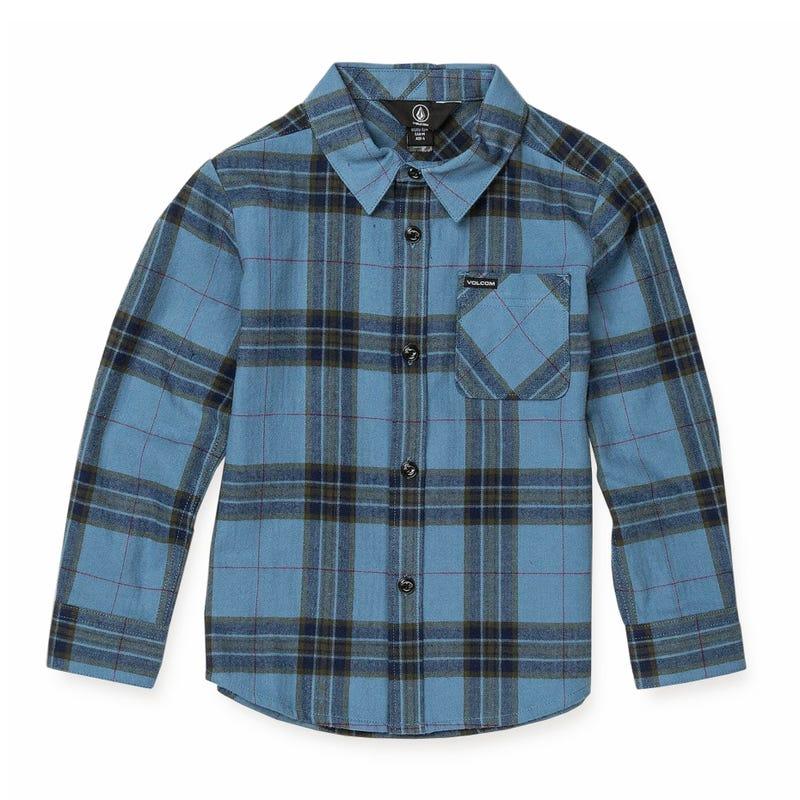 Caden Plaid L/S Shirt 8-16