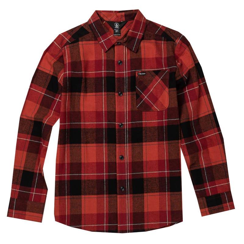 Caden Plaid Shirt 8-16