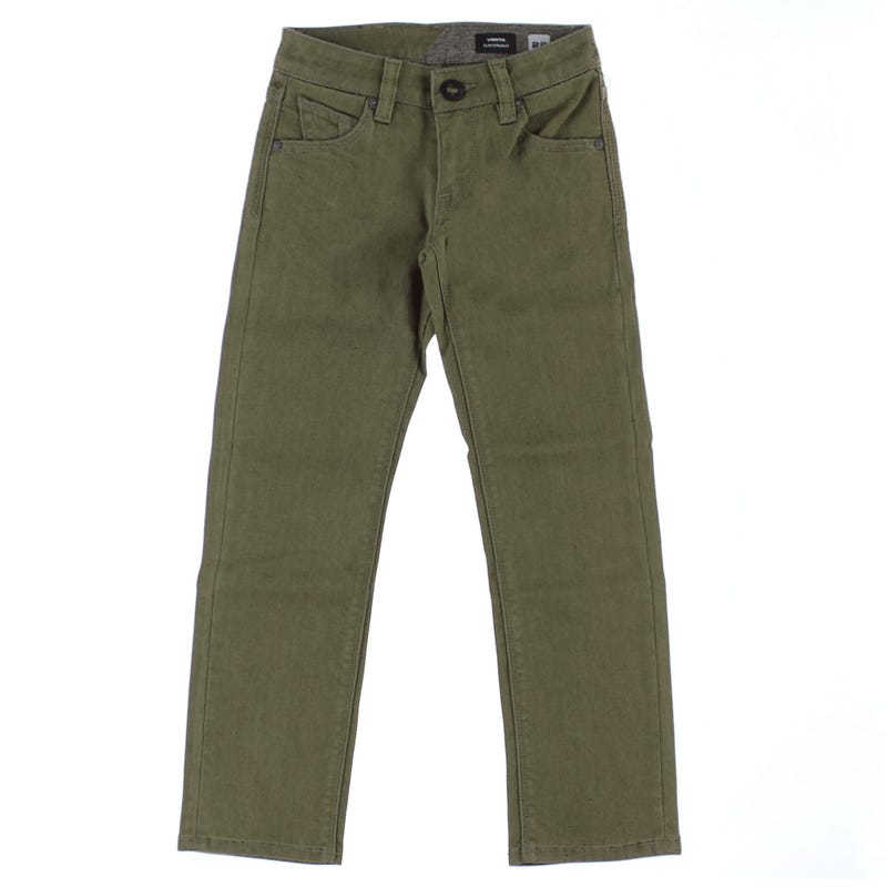 Jeans Vorta 8-16ans - Olive
