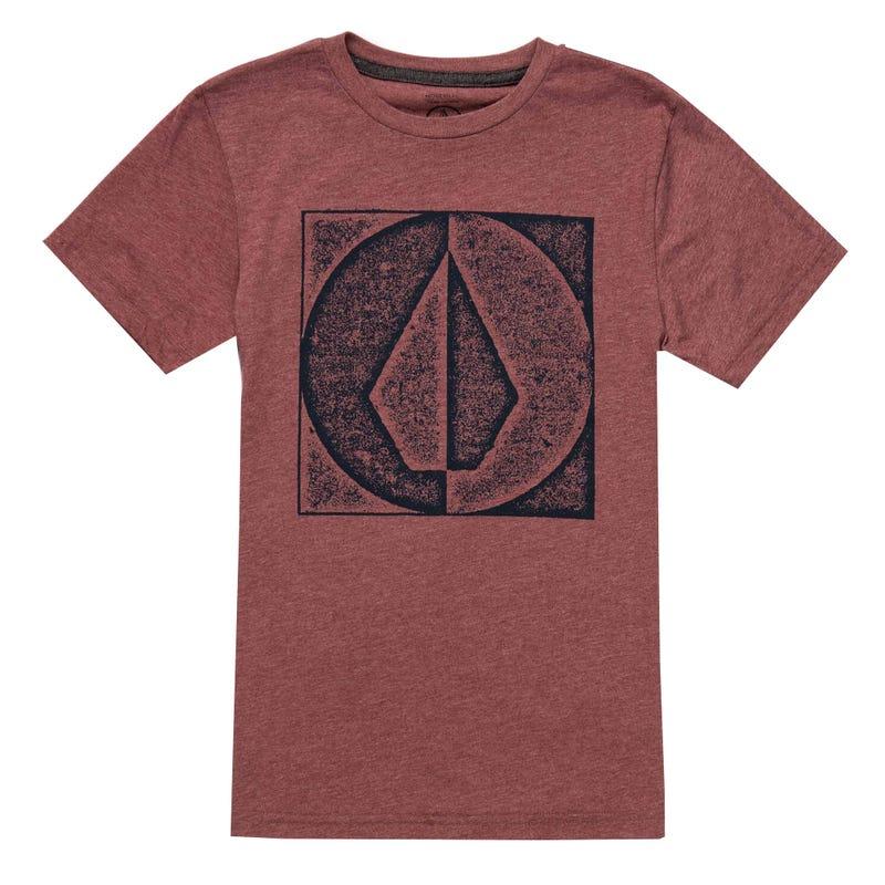 Stamp Divide T-Shirt 8-16y