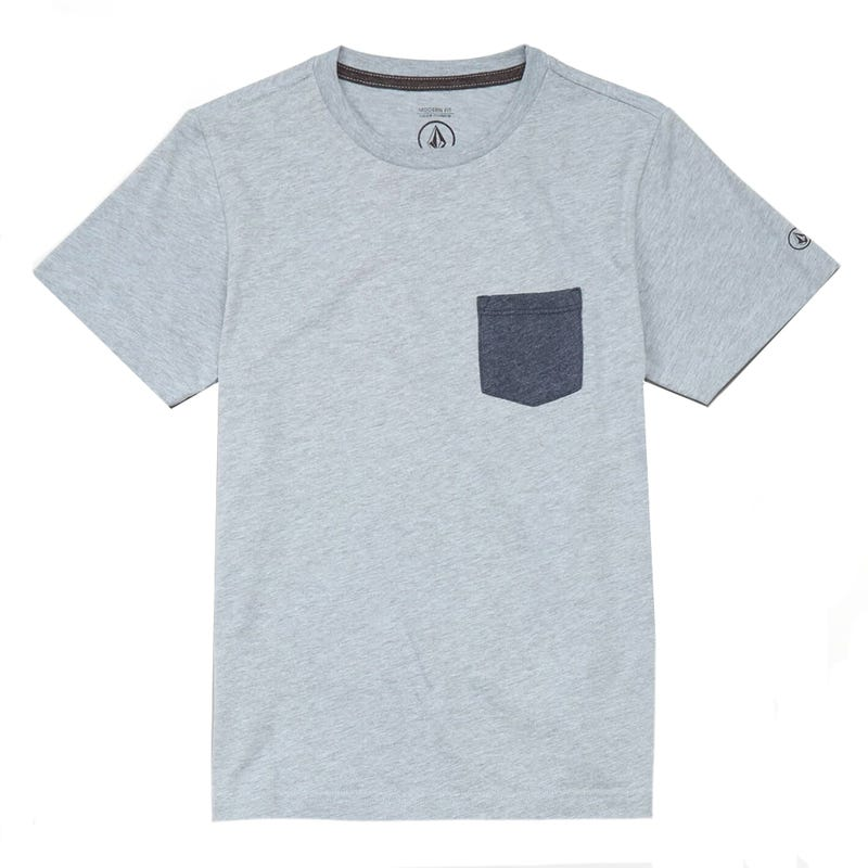 T-Shirt Heather Pocket 8-16ans