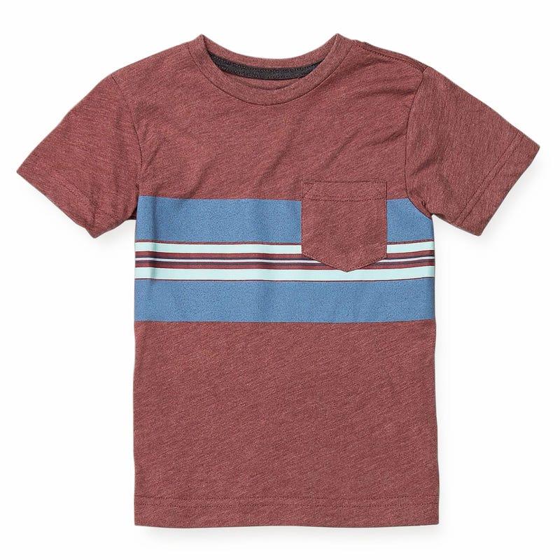 T-Shirt Band Pocket 8-16ans