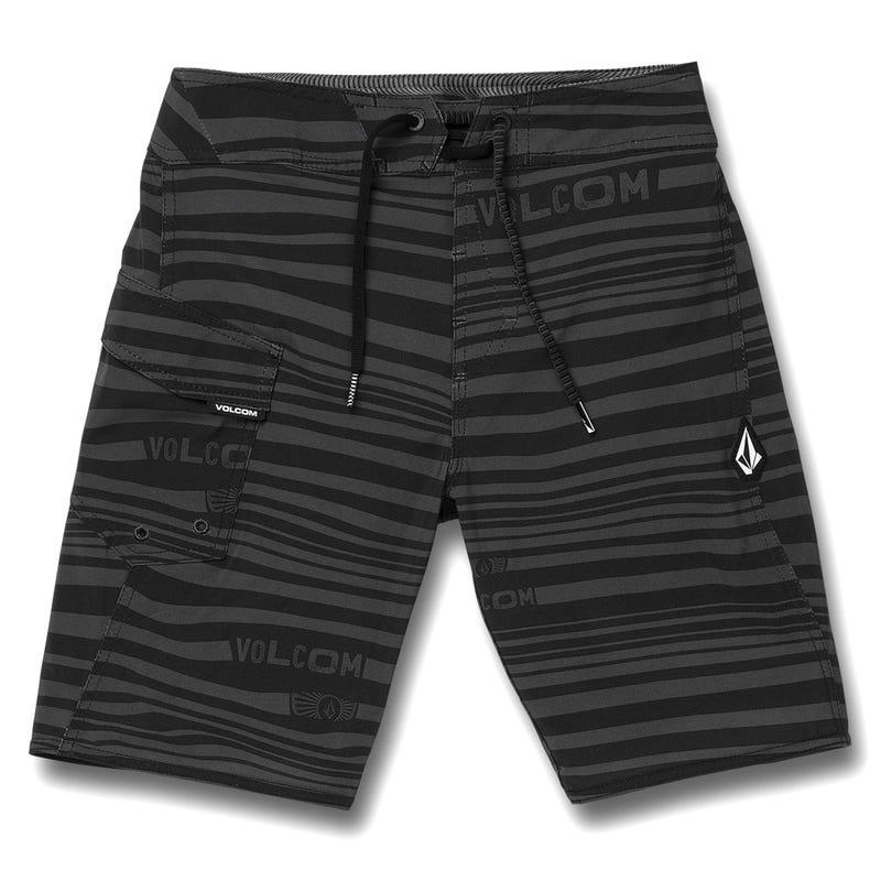 Logo Stripe Mod Boardshorts