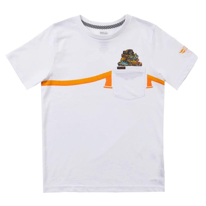Pile Up Pocket T-Shirt 2-7y