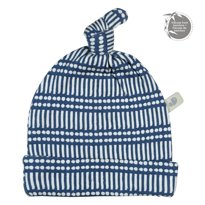 Bamboo Knotted Hat 0-9m