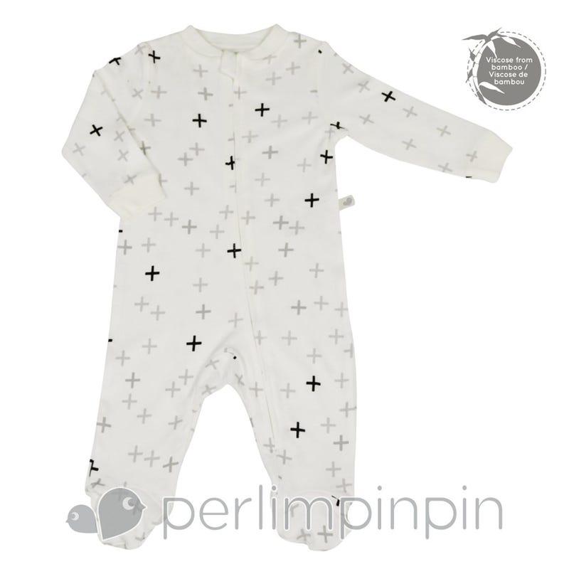 Pyjama Imprimé Plus Bambou 0-6mois