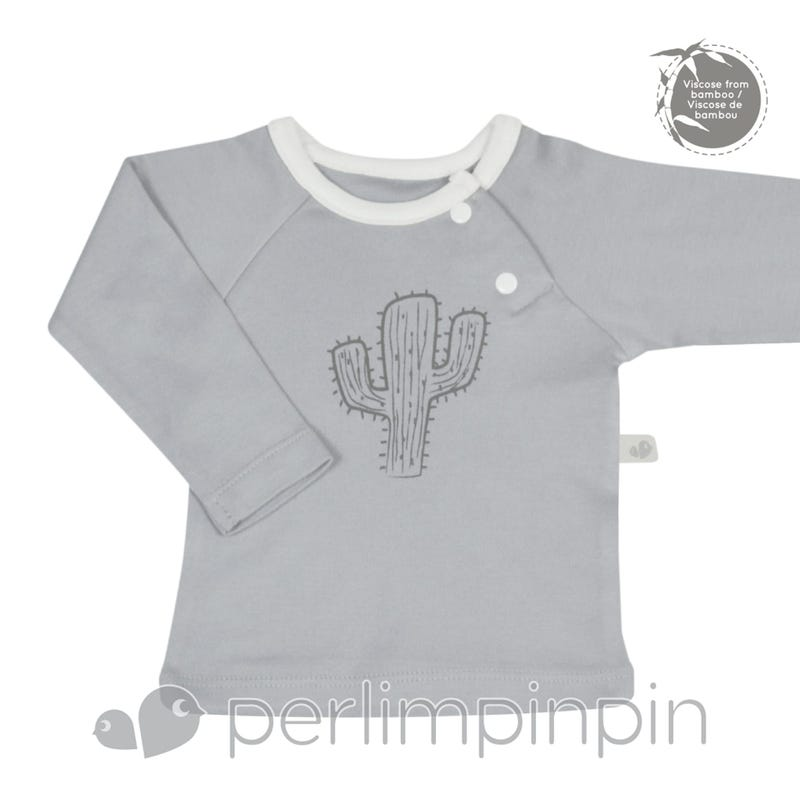 Bamboo Long Sleeve Shirt 0-9m