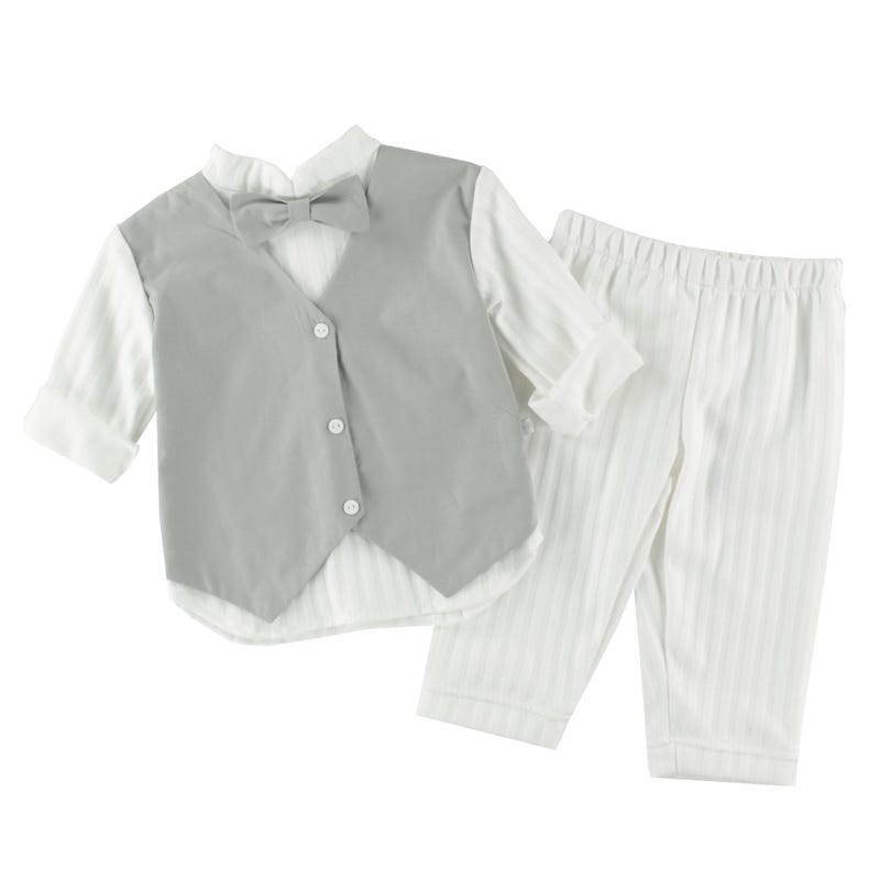 Ensemble Pantalon Bapteme 3-18m