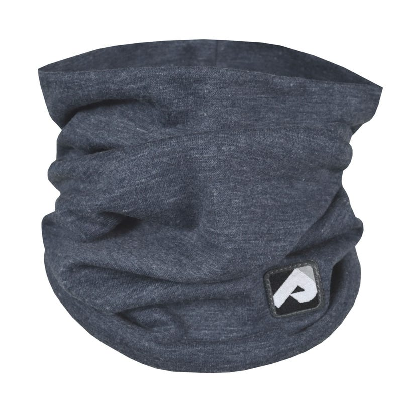 Cotton Jersey Neck Warmer 0-6y - Blue
