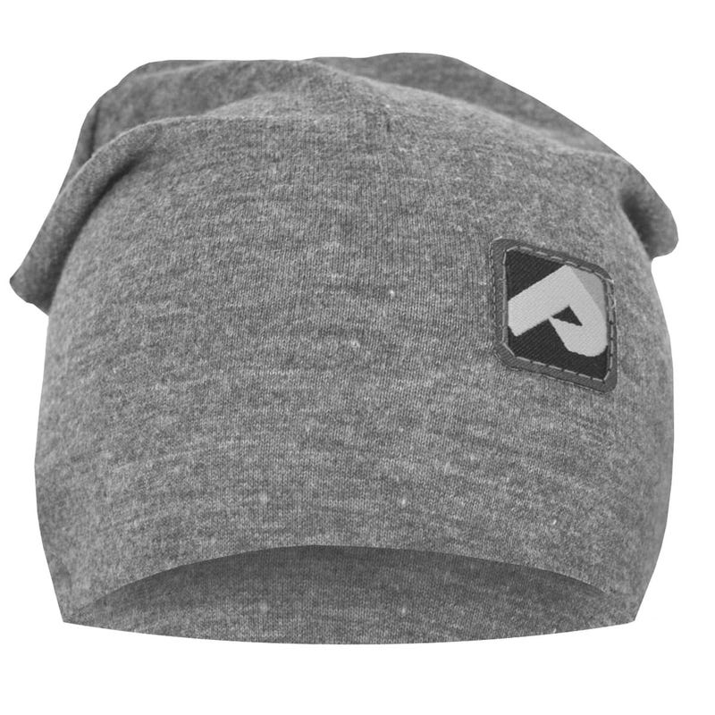 Cotton Beanie 0-24m - Gray