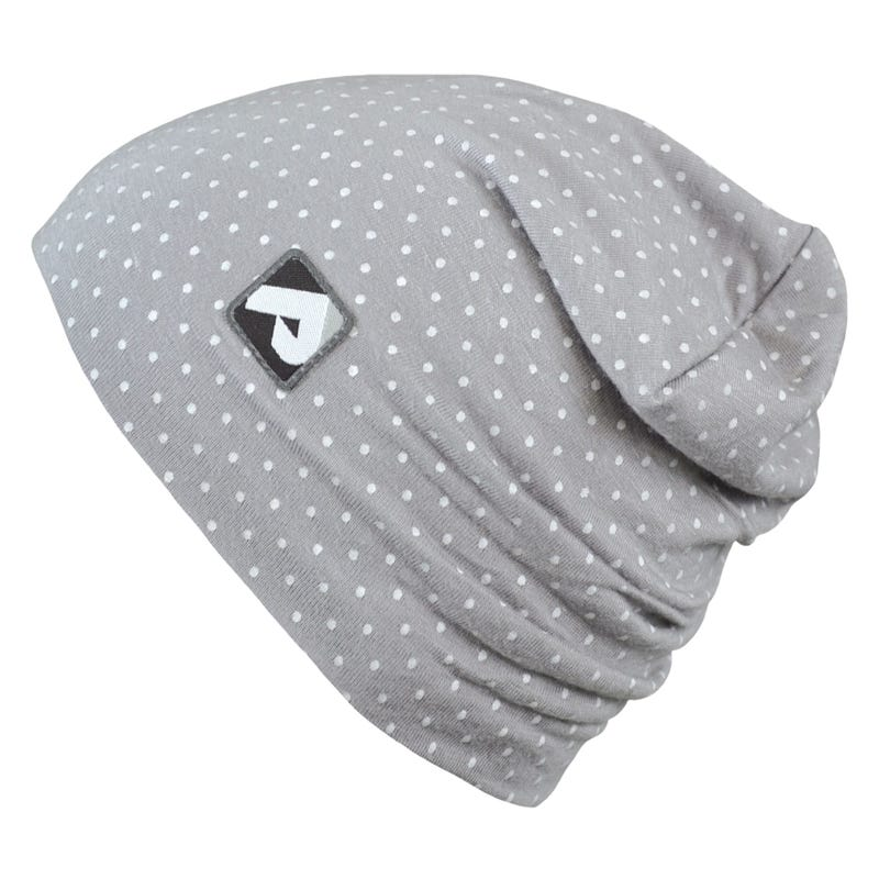 Cotton Beanie 0-24m - Dots Printed