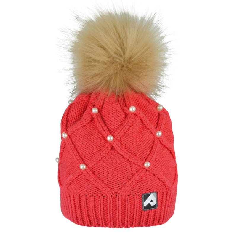 Tuque Perles 2-12ans - Corail