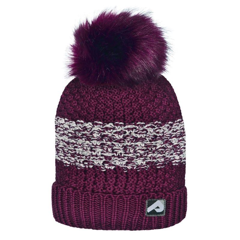 Merlot White Winter Hat 2-12y