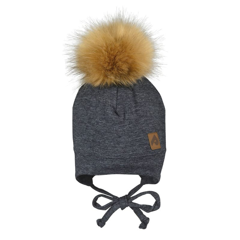 Tuque Pompom Détachable 2-6
