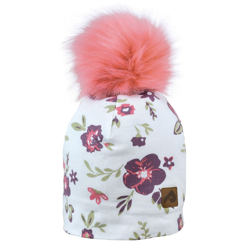 Tuque Pompom Détachable 0-24m